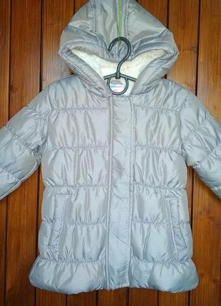 Зимова куртка плащ р92 topomini