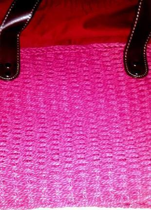 Сумка плетенная
