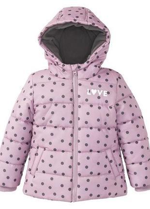 Деми куртка lupilu осіння весняна для дівчинки р86