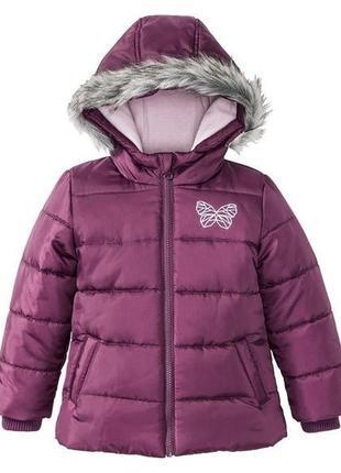 Деми куртка lupilu осіння весняна для дівчинки р92