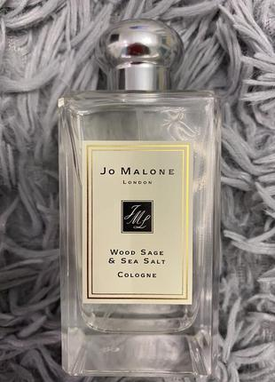 Духи jo malone- wood sage s sea salt