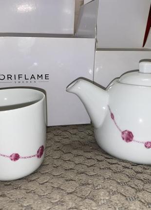 Чайный набор чайник чашка