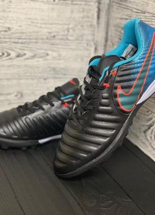 Футбольная обувь nike tiempo ligera iv tf