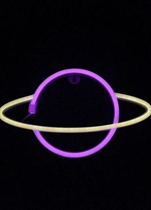 Настенная лампа, неоновый светильник