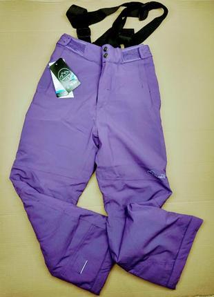 Детские фиолетовые лыжные мембранные штаны dare2b(англия)/152(11-12 лет)