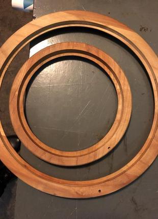 Рамы круглые дерево