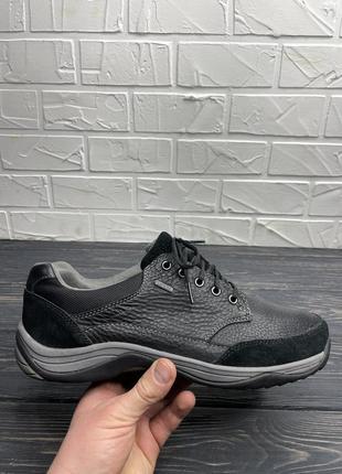 Мужские туфли мокасины clarks gore-tex