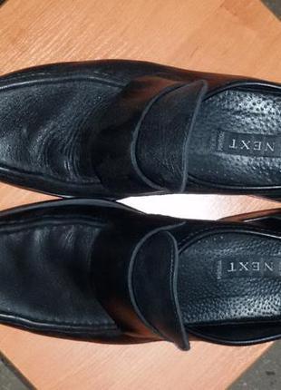 Туфли лоферы мокасины next р.42