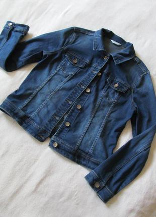 Фирменный джинсовый пиджак франция
