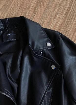 Куртка sinsay кожаная курточка косуха