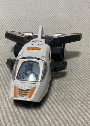Робот трансформер самолет динозавр звуковой