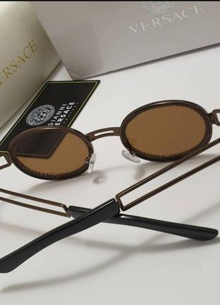 Стильные очки солнцезащитные в камнях разные цвета камни4 фото