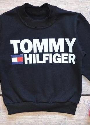 "✅ утеплённый джемпер ""tommy hilfiger"" томми хилфигер (рост 86-92, 92-98)"