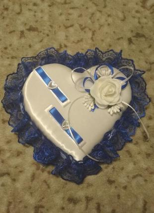 Декор для свадебных колец