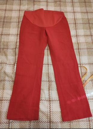 Летние коттоновые брюки для беременных