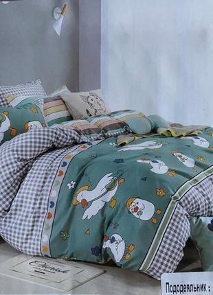 Фланелевое постельное белье, постільна білизна