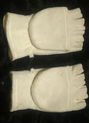Митенки рукавички 2 в одном