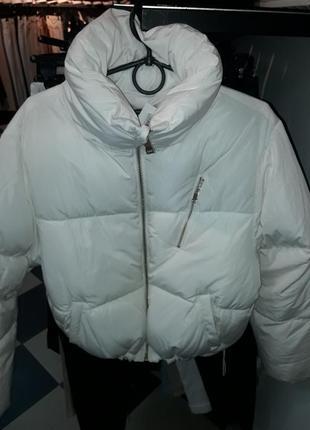 Куртка зефирка bershka s1 фото