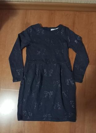 Платье на девочку 7-8 лет.
