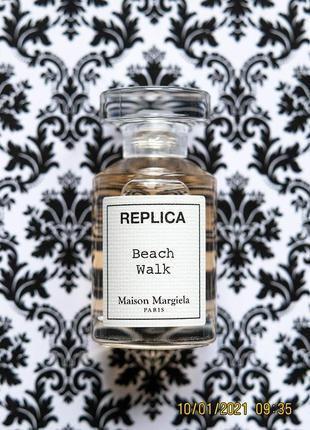 Летний парфюм maison martin margiela replica beach walk edt 7 мл духи