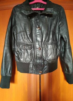 Куртка кожаная курточка натуральная кожа