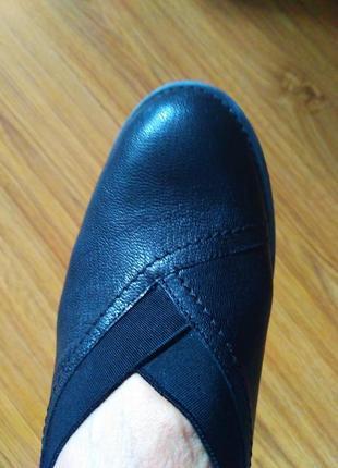 Туфли лофери кожа