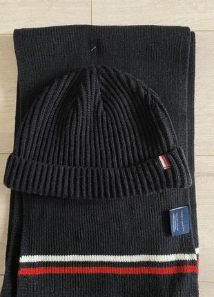 Набор tommy hilfiger шапка шарф