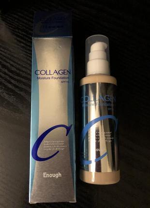 Тональный крем collagen moisture foundation