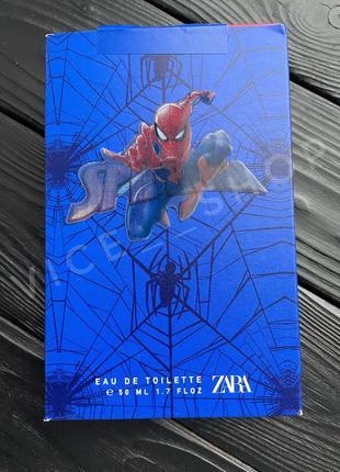 Zara kids spiderman духи парфюмерия туалетная вода оригинал испания