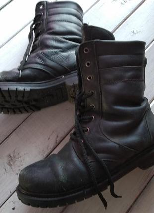 Зимние ботинки берци