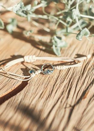 Парные браслеты, браслеты для влюбленных, с горами