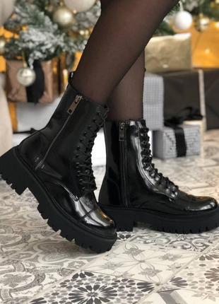 Шикарные ботинки tractor без меха