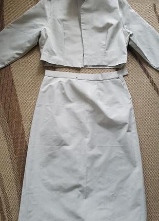 Костюм,  укорочен пиджак
