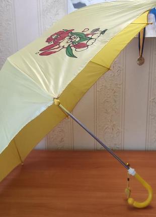 Детский зонтик с зайчиком