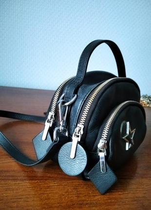 Кожаная сумка stella mccartney