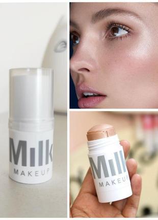 Кремовый хайлайтер в стике milk makeup highlighter, мини, оригинал