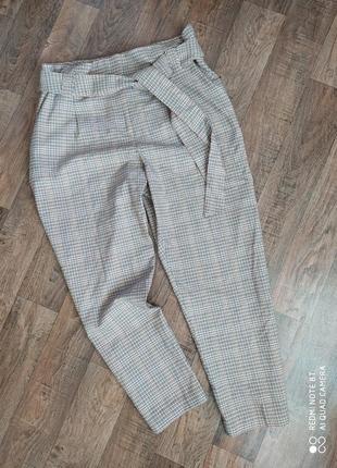 Стильные брюки клетка