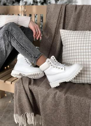 Женские зимние ботинки timberland на меху