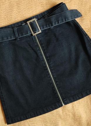 Юбкa джинсовая