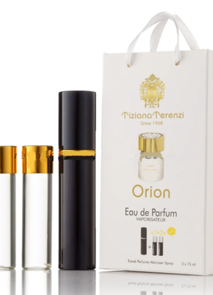 Мини-парфюм унисекс  orion 3х15 мл