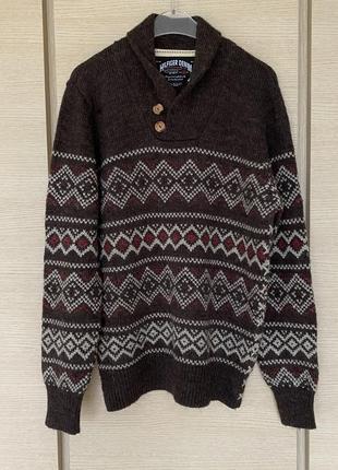 Пуловер мужской плотный tommy hilfiger размер l/xl