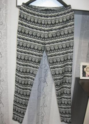 Теплые штаны леггинсы джогеры гамаши