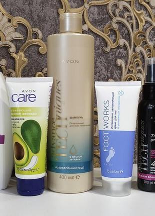 Шампунь,крем для рук/ног, спрей для волос,спрей для тела, средство для интимной гигиены