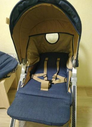 Лёгкая коляска 2в1