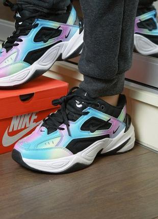 Кроссовки nike air m2k tekno женские цветные