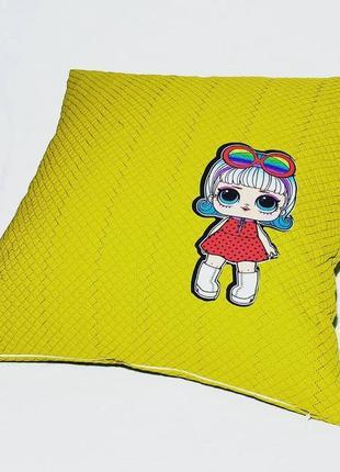 Детская декоративная подушка lol🧚♀️❤
