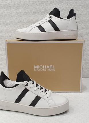 Michael kors кожаные женские кроссовки