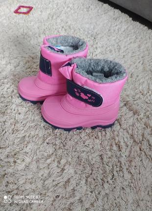Зимові резинові чоботи чобітки