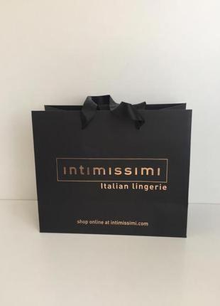 Пакет подарочный intimissimi