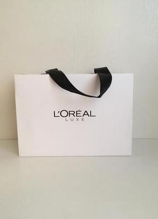 Пакет подарочный l'oréal luxe